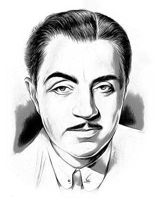 Mixed Media - William Powell by Greg Joens