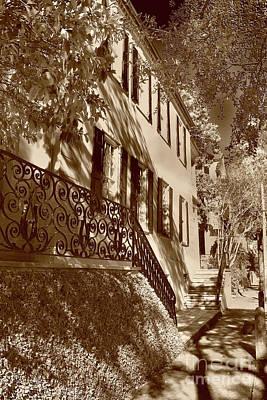 William Rhett House, Sc Art Print by Skip Willits