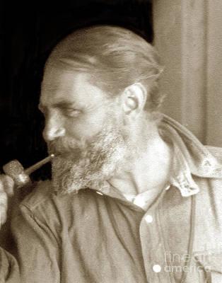 Photograph - Artist William Ritschel Also Known As Wilhelm Frederick Ritschel 1864-1949 by California Views Mr Pat Hathaway Archives