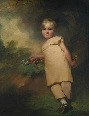 Painting - William Scott-elliot Of Arkleton  by Henry Raeburn