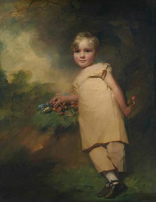 Painting - William Scott-elliot Of Arkleton  by Henry Raeburn