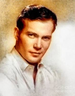 William Shatner, Actor Art Print by Frank Falcon