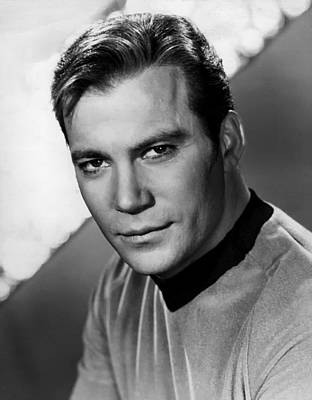 Captain Kirk Photograph - William Shatner As Captain Kirk 1967 by Mountain Dreams
