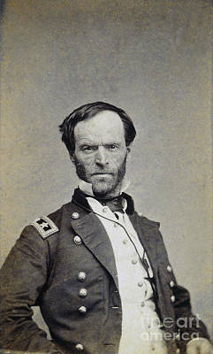 William Tecumseh Sherman Art Print by Granger