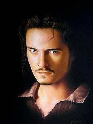 Orlando Bloom Painting - William Turner by Manfred Burgard