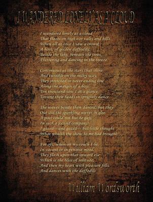 Unicorn Dust - William Wordsworth by Andrew Fare