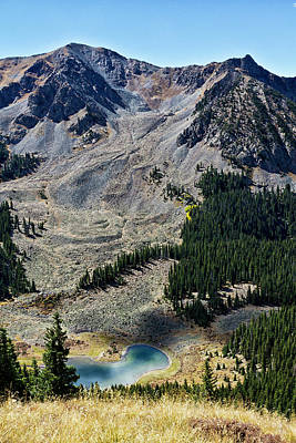 Photograph - Williams Lake From Wheeler Peak Trail by Robert Woodward