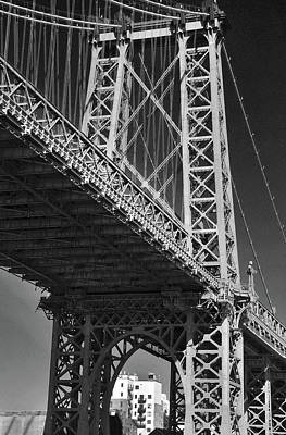 Photograph - Williamsburg Bridge by David Cabana