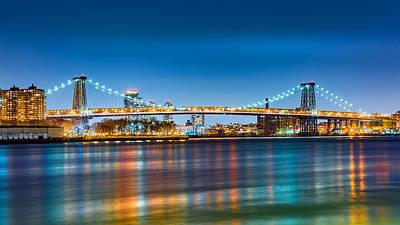 Photograph - Williamsburg Bridge by Mihai Andritoiu
