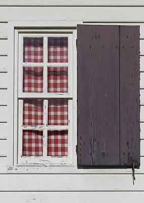 Williamsburg Window 33 Art Print