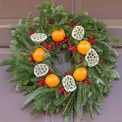 Williamsburg Wreath 90 Art Print