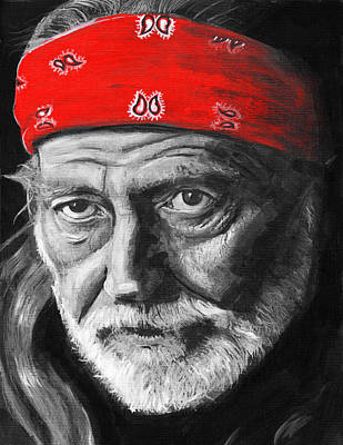 Painting - Willie by Charles  Bickel