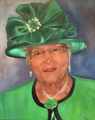 Hats Painting - Willie by Dani Altieri Marinucci
