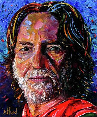 Painting - Willie by Debra Hurd