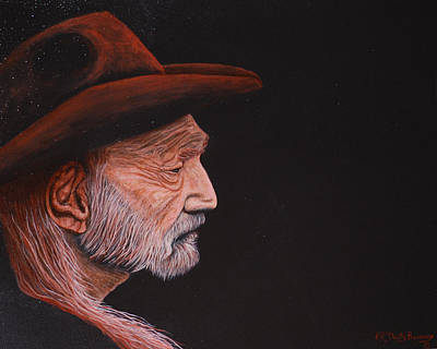 Painting - Willie by Dusty Bahnson