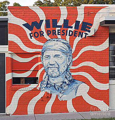 Clouds - Willie For Prez by Betsy Warner