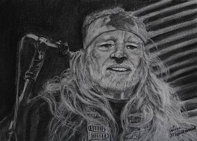 Wall Art - Drawing - Willie by Lisa MacDonald