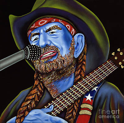 Willie Art Print by Nannette Harris