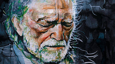 Willie Nelson 7 Art Print
