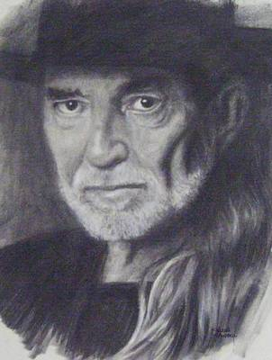 Willie Nelson Drawing - Willie Nelson  by Cynthia Campbell