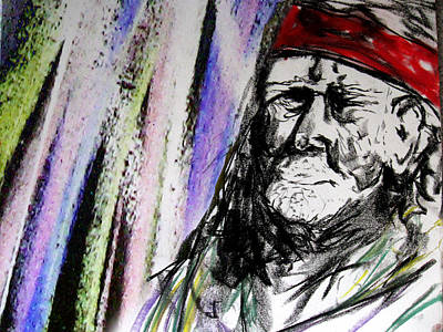 Willie Nelson Drawing - Willie Nelson by Jacob Smith