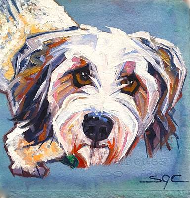 Painting - Willie by Sarah Gayle Carter