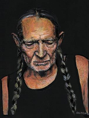 Willie Painting - Willie by Someone Jenkins