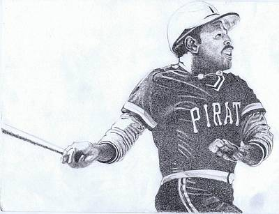 Pittsburgh Pirates Drawing - Willie Stargell by Paul Smutylo