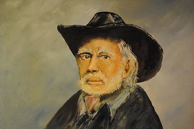 Portrate Painting - Willie The Legend by James Higgins