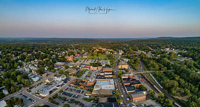 Photograph - Willimantic Panorama by Michael Hughes