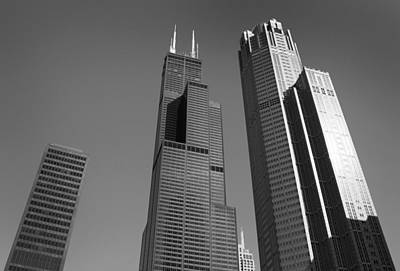 Photograph - Willis Tower by Milena Ilieva