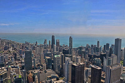 Photograph - Willis Tower View - Chicago by Allen Beatty