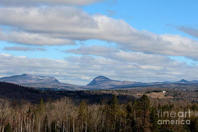 Photograph - Willoughby Gap From Burke Vermont by Neal Eslinger