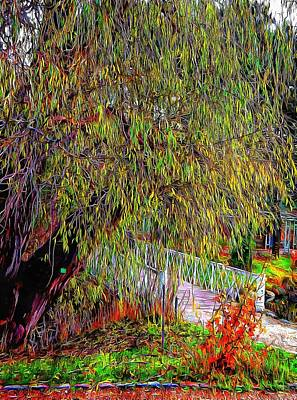 Photograph - Willow Bridge by Dorothy Berry-Lound