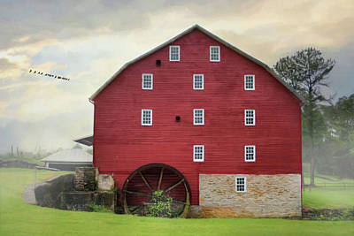 Photograph - Willow Grove Mill by Lori Deiter