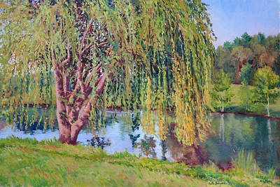 Meadow Willows Painting - Willow by Keith Burgess