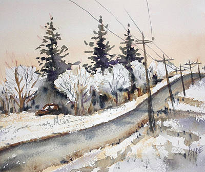 Painting - Willow Springs Road by Lynne Haines