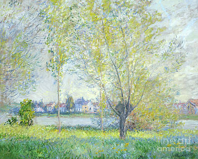 Painting - Willows At Vetheuil, 1880  by Claude Monet
