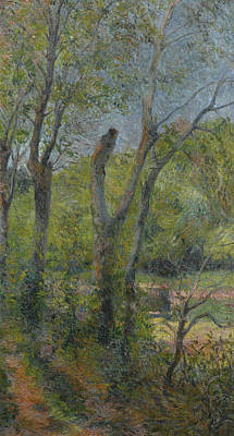 Painting - Willows by Paul Gauguin