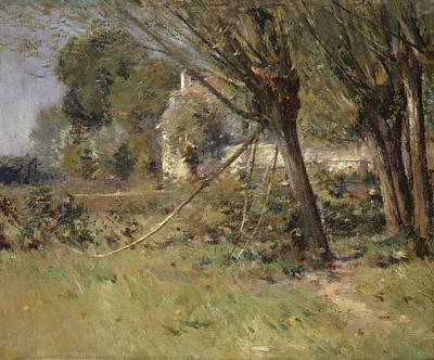 Painting - Willows by Theodore Robinson