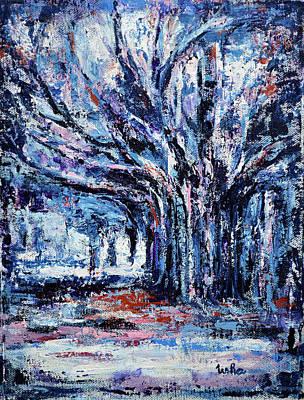 Painting - Willowy by Usha Shantharam