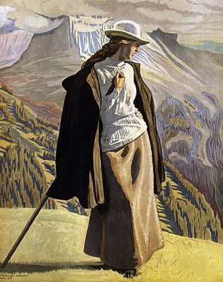 Painting - Willumsen Mountaineer by Jens Ferdinand Willumsen
