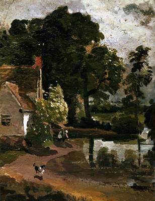 Painting - Willy Lot House 1810 by Constable John