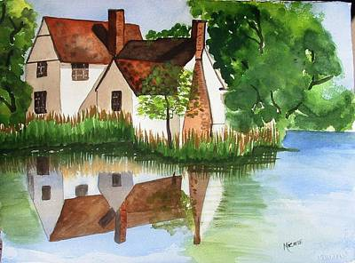 Willy Lotts Cottage Art Print