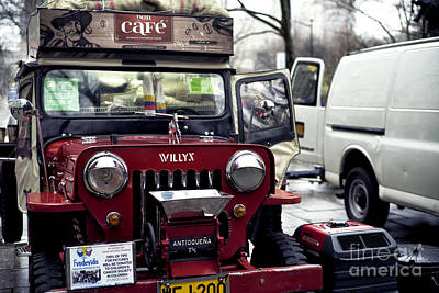 Photograph - Willys At Central Park by John Rizzuto