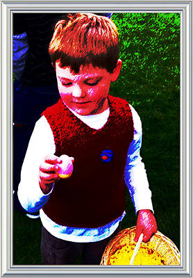 Photograph - Willy's Easter Egg by Cadence Spalding