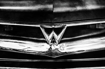 Photograph - Willys Emblem by Sharon Popek