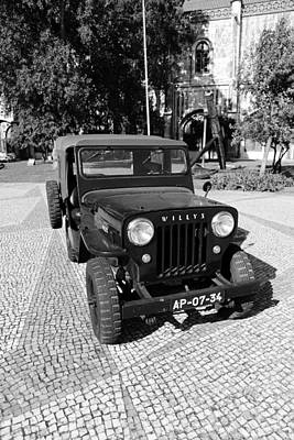 Photograph - Willys Jeep 1b by Andrew Fare