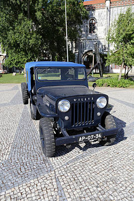 Photograph - Willys Jeep by Andrew Fare