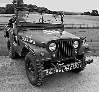 Photograph - Willys Jeep by Daniel Hagerman